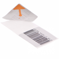 RF Label (4x4) Dummy Barcoded
